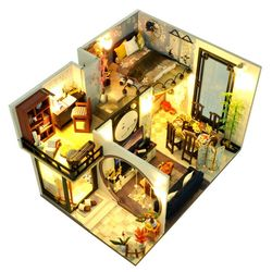 [adico]DIY 미니어처 하우스 - 클래식 하우스