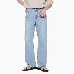 LM015 LONG WIDE DENIM PANTS