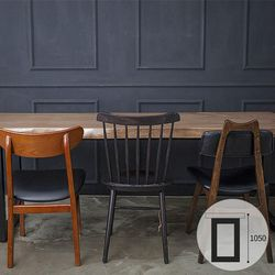 뉴송 우드슬랩 식탁 스타벅스테이블 1600(바높이1050)