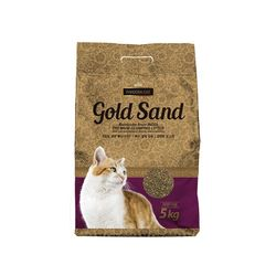 플라잉캣독 판도라 고양이 골드샌드(라벤더향)5kg 4개