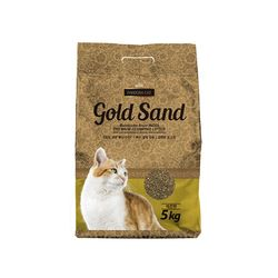 플라잉캣독 판도라 고양이 골드샌드(레몬향)5kg 4개