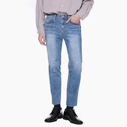 LM034 PERFECT STRAIGHT JEANS LIGHT BLUE