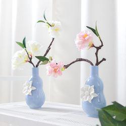 벚꽃꽃잎화병o set 22cmP 조화 인테리어 장식 FMFUFT