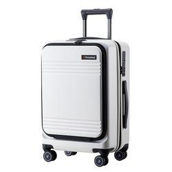 프레지던트 A90 화이트 20인치 하드캐리어 여행가방