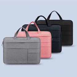 13인치 16인치 노트북 수납 멀티 포켓 손잡이형 파우치 가방