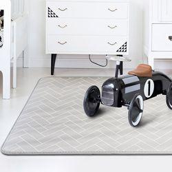 말랑말랑 헤링본 놀이방매트 특대형 140x250cm