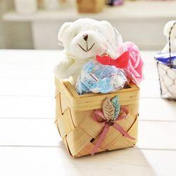 우든베어바구니 화이트데이 사탕 화이트데이선물 캔디
