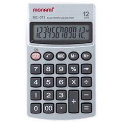 모나미 계산기 MC-071 12단 사무용품 회계용