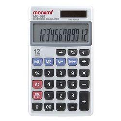 모나미 계산기 MC-081 12단 사무용품 회계용