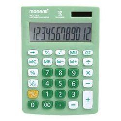 모나미 계산기 MC-103 12단 사무용품 회계용
