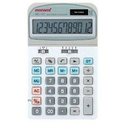 모나미 계산기 MC-131 12단 사무용품 회계용