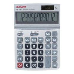모나미 계산기 MC-141 12단 사무용품 회계용