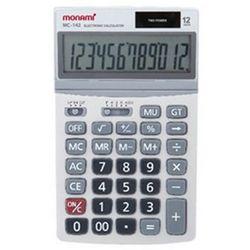 모나미 계산기 MC-142 12단 사무용품 회계용