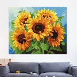 DIY 명화그리기 [ 5개의 태양 ] - 40cmX50cm