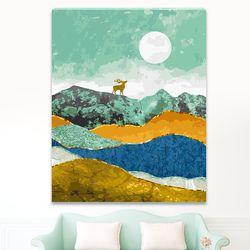DIY 명화그리기 [ 행복을 부르는 사슴 ] - 40cmX50cm