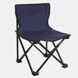 캠포스 등받이 접이식 의자(다크블루)