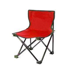 캠포스 등받이 접이식 의자(레드)