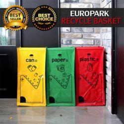 대용량 크롱이 재활용 분리수거함/쓰레기통