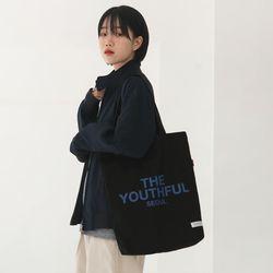 유스풀 서울 에코백-블랙