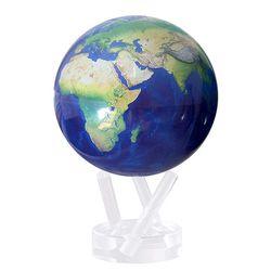빛만 있으면 OK 자가회전 Natural Earth 지구본 114mm