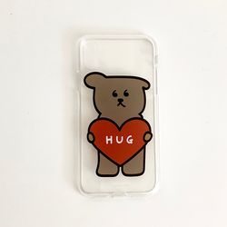 HUG 클리어케이스