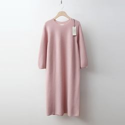 Laine Cashmere Wool Puff Long Dress