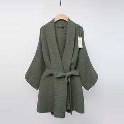 Laine Cashmere Wool Shawl Cardigan