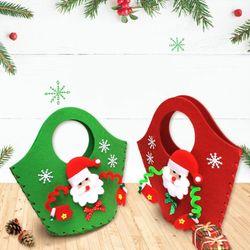 크리스마스 산타 펠트가방(1인용)