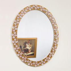 앵두 거울 타원형