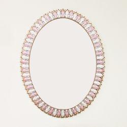 라일락 거울 타원형