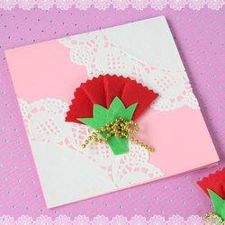 만들기 도일리 카네이션 카드(10set)