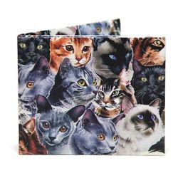 디월아트 큐티캣 고양이 친환경 종이지갑 (TW-WA-044)