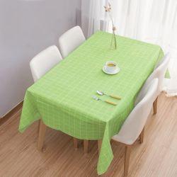 홈러브 격자무늬 식탁보(그린) (137x137cm)