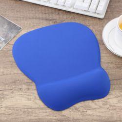 메모리폼 손목 마우스패드(블루)