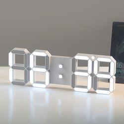대형 LED 무소음 벽시계 디지털시계 벽걸이시계