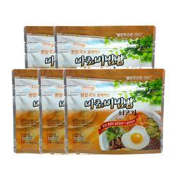 전투식량 비상식량 바로비빔밥 쇠고기 5개세트