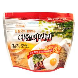 전투식량 비상식량 바로비빔밥 김치