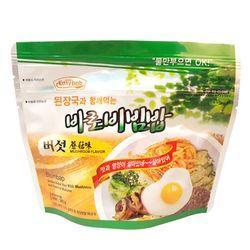 전투식량 비상식량 바로비빔밥 버섯