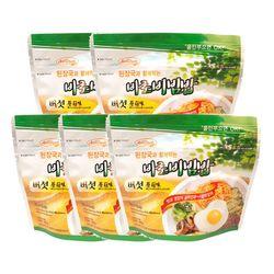 전투식량 비상식량 바로비빔밥 버섯 5개세트