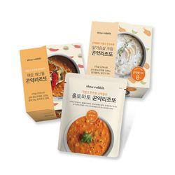 슬로우래빗 곤약쌀로 만든 다이어트 곤약리조또 3종 모음
