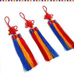 3색 전통국화매듭