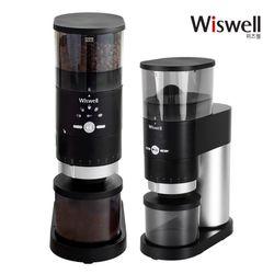 커피밀 전동 커피 그라인더 40단계 분쇄도 WSG-9400