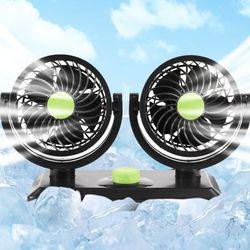 듀얼 차량용 선풍기 HF -V168 12V 냉풍기 서큘레이터