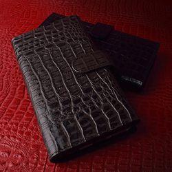 갤럭시 S6엣지+ 럭스 지갑 가죽 핸드폰 휴대 폰 케이스