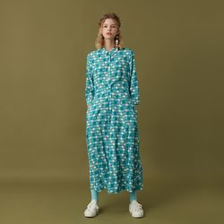 VIVID LONG SHIRTS ONE-PIECE MINT