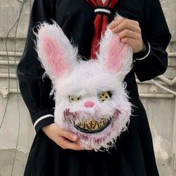 미친 토끼 할로윈 코스프레 가면