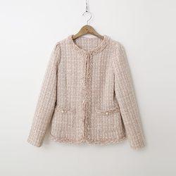 Tweed Puff Jacket