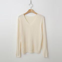 Spring V-Neck Knit
