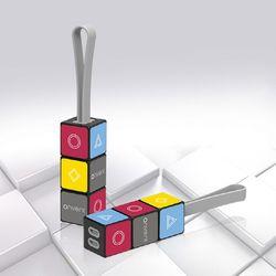 큐브 퍼즐 3IN1 고속 충전 케이블