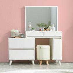 [가구엠디](가구엠디) 서진퍼니처 러블리 거울 수납형 화장대